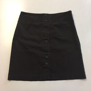 Ann Taylor Loft Dark Brown skirt size 4